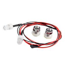 RC Model 1:5 On-Road Car White LED Night 2pc 10mm headlamps headlights LED light