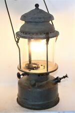 Aladdin 1A lantern, vintage WW2 grey painted brass tank, original, burns good.