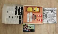 Vintage 1969 Hasbro Amaze-A-Matics Chrysler Charger III w/ instructions in box