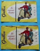 Prospectus Catalogue Brochure les Nouveaux Scooters PEUGEOT 1958 Griffon vintage
