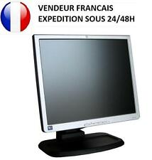 ECRAN PC ORDINATEUR TFT LCD 17 POUCES HEWLETT PACKARD L1740 / L1750 ETAT NEUF