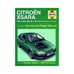 Haynes Manual Citroën Xsara 1997-2000 Nuevo 3751