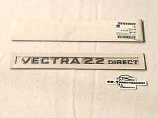 Opel Vectra C 2.2 Direct Logo Schriftzug Emblem Anschauen original Opel 93178156