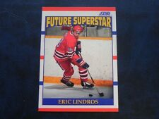 1990-91 90/91 Score Future Superstar ROOKIE #440 Eric Lindros Oshawa Generals