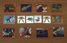 Yu-Gi-Oh! Gx Yugioh Stickers - 2006 - Upper Deck - 14 Stickers As Pictured