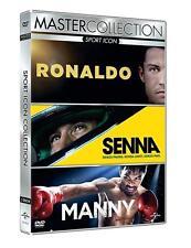 DVD Deporte Icono Collection (3 DVD) Ronaldo - Senna - Manny NUEVO