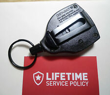 KEY BAK SUPER 48 - Key Ring Caddy SELF Retracting / KEY CHAIN REEL ~ KEVLAR CORD