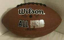 Wilson All Pro Nfl Football Official Size Tackified Composite