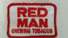 REDMAN Red Man Chewing Tobacco Patch embroidered iron-on sew-on 70'S rare