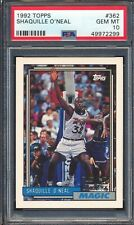 49972299 1992 Topps 362 Shaquille O'Neal RC Rookie PSA 10 GEM MINT