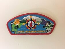 Boy Scout 1997 National Scout Jamboree Daniel Webster Council Red Border