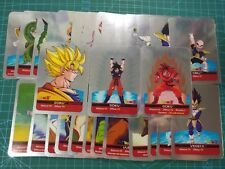 Dragon Ball Z Series Argento Complete Set 30 Piece Lamincards Full Silver Cards