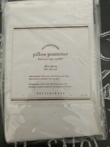 NWT Pottery Barn pillow protector 26x26