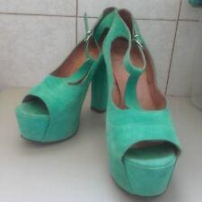 Scarpe sandali decolte donna Ovye Cristina Lucchi 37 pelle mod jeffrey campbell
