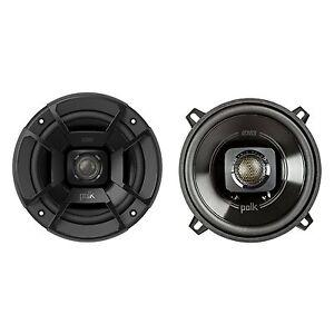 Polk Audio DB522 300 Watt RMS 5.25 Inch Coaxial Marine Certified Speakers, Black