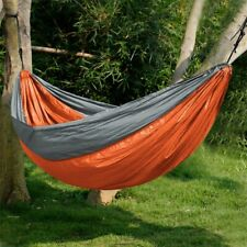 Universal 3.2*2M Larger Size Double Color Nylon Camping Beach Travel Hammock