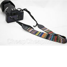 Vintage Camera Shoulder Neck Belt Strap For SLR DSLR Canon Nikon 'Sony