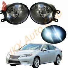 1Set LED Bulb Bumper Fog Lights Driving Lamps Replace k For Toyota Lexus Scion