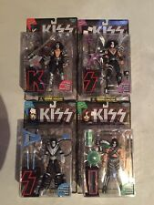 1997 McFarlane Toys KISS Ultra-Action Unopened Action Figure Set Of 4, Factory