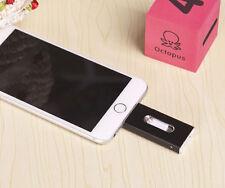 Black 128GB i Flash OTG Dual USB Memory Drive U Disk For Samsung iPhone iPad/PC