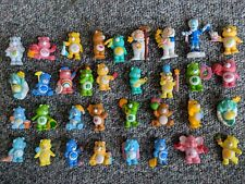 Lot of 34 Vintage Care Bears PVC Figures Toys 1983 and 1984 rare collectables