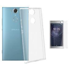 Coque Silicone pour SONY XPERIA L2 Transparent etui housse vitre de protection