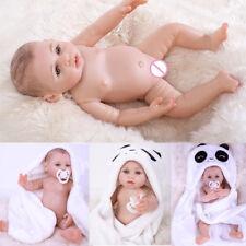Realistisch Reborn Baby Puppe Babypuppe Silikon Mädchen Geburtstagsgeschenk 43cm