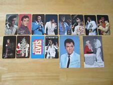 Elvis Pocket Calendars and Season's Greetings Postcard Lot