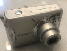 NICE Canon PowerShot A480 10.0MP Digital Camera - White - Tested - Free Shipping