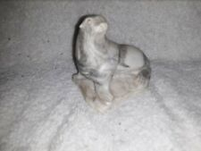 PEARLITE MARBLECRAFT  HAND CRAFTED IN CANADA  INUIT Seal 3""