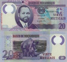 Mozambique 20 Meticais (16.6.2017) - Rhino/Polymer/p-149b UNC