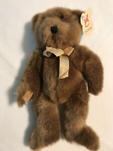 FAO Schwartz Brown Bear  11 Inches All Tags Intact
