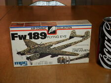 "WW#2,GERMAN, FOCKE-WULF Fw 189 ""FLYING EYE""  PLANE, PLASTIC MODEL KIT,Scale 1/72"