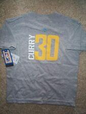 Dorado Estado Warriors Stephen Curry NBA Jersey Camiseta Youth Niños Chicos (5-6