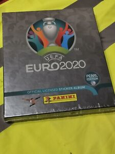 PANINI EURO 2020 Collectors Box Swiss(Pearl Edition)
