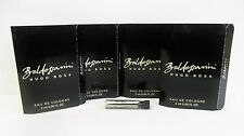 Hugo Boss Baldessarini Cologne 2 ml .06 oz Sample Vial x 4 PCS