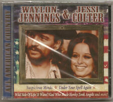 "WAYLON JENNINGS & JESSI COLTER, CD  ""ALL AMERICAN COUNTRY"" NEW SEALED"