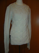 H&M Lana del Rey Pullover Wollweiß Größe L / M *NEU*
