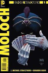 BEFORE WATCHMEN MOLOCH #1 (J. Michael Straczynski!!)