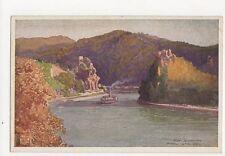 Donau Struden Austria Rud Schmidt Vintage Postcard 223a