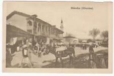 13317- Albania, Scutari, Macelleria Albanese, cartolina d' epoca