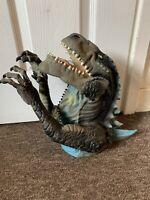 "Godzilla TOHO Movie Hand Puppet Large Dinosaur Toy 12"" Vintage 1998 Retro Rare"