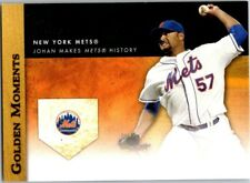 JOHAN SANTANA 2012 TOPPS GOLDEN MOMENTS #U5 ($0.75 MAX SHIP)