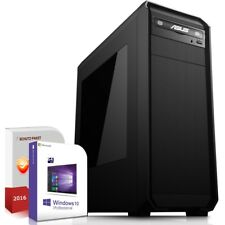 Win 10 PC Komplett System  Intel i7-7700K 4x4.5GHz 16 GB Nvidia GTX 1050Ti mit 4