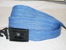BNWT - BILLABONG Logistik Cotton Webbing Belt with Bottle Opener  Royal Blue