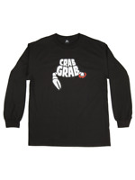 Brand New Mens 2020 Crab Grab Death By Claw Long Sleeve T-Shirt Black