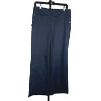 Ann Taylor Loft Black Dress Pants sz 8P Petite New NWT 29.5 inseam