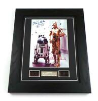 STAR WARS Signed PREPRINT EMPIRE STRIKES BACK STAR WARS FILM CELLS FRAMED GIFTS