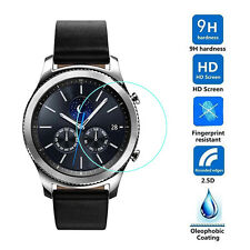 Glass Film Tempered Screen Protector For Samsung Gear S3 Classic Smart Watch