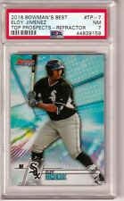 ELOY JIMENEZ -- 2018 BOWMAN'S BEST TOP PROSPECTS REFRACTOR -- PSA NEAR MINT 7